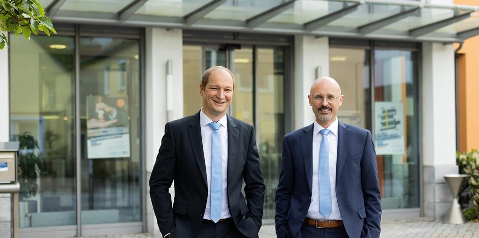 Vorstände Johann Pernpaintner und Josef Geserer